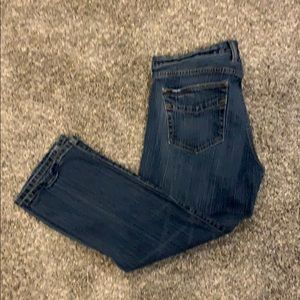 Gap original low rise cropped jeans